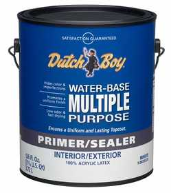 Dutch Boy 1.0029220-16 Primer/Sealer Multi-Purpose Interior/Exterior Gallon