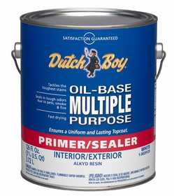 Dutch Boy 1.0029120-16 Primer/Sealer Multi-Purpose Interior/Exterior Gallon