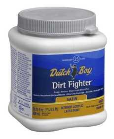 Dutch Boy 1.DB58609-14 Dirt Fighter Interior Latex Paint Satin Neutral Base D Qt