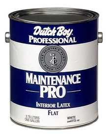 Dutch Boy DM4215142-16 Maintenance Pro Interior Flat Off White Paint Gal