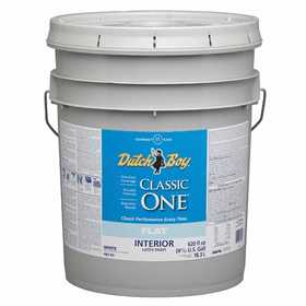Dutch Boy 1.0048207-20 Classic One Interior Latex Paint Flat Ultra White