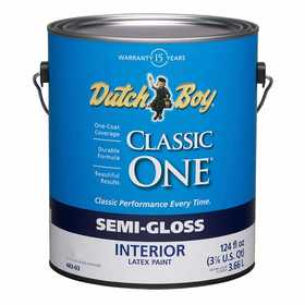 Dutch Boy 1.0048309-16 Classic One Semi-Gloss Neutral Base Gallon