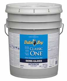 Dutch Boy 1.0048307-20 Classic One Interior Latex Paint Semi-Gloss Ultr
