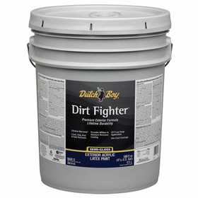 Dutch Boy 1.DB51803 Dirt Fighter Exterior Latex Paint Satin Base 5-Gallon