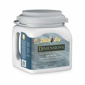 Dutch Boy 1.0DB2000 Dimensions Interior Acrylic Paint Granite Gallon