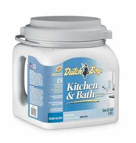 Dutch Boy 1.0DB1555 Kitchen And Bath Latex Enamel Paint Deep Tone Base Gallon