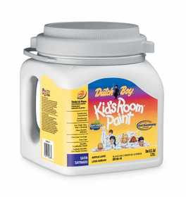 Dutch Boy 1.DB15603 Kid's Room Satin Enamel Paint White Base Gallon
