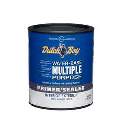 Dutch Boy 1.0029220-44 Primer/Sealer Interior /Exterior M Purpose Qt