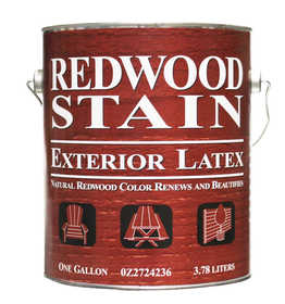 Dutch Boy 0Z2724236-16 Redwood Latex Stain Gal
