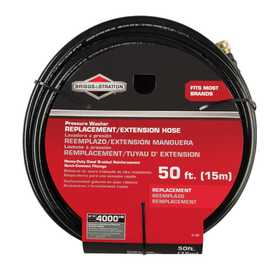 Briggs & Stratton 6192 Pressure Washer 50 ft Extension /Replacement Hose