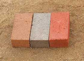 St. Vrain Block 11520 21/4 Paving Brick 4x8 Red