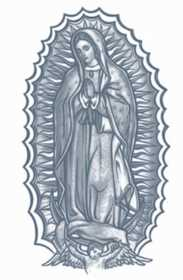 Tinsley Transfers Inc. PR-311 Our Lady Temporary Tattoo