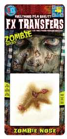 Tinsley Transfers Inc. FXTS-706 Zombie Nose Temporary Tattoo