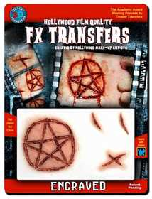 Tinsley Transfers Inc. FXTM-507 Engraved Temporary Tattoo