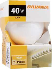 Sylvania/Osram 14287 40w White Incandescent Globe 3 in