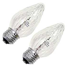 Sylvania/Osram 13992 Clear Incandescent Decor Bulb 60w 2Pack