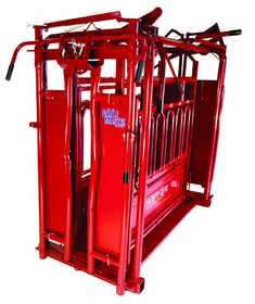 Tarter Farm and Ranch CMSCA6 Cattlemaster Series 6 Heavy-Duty Squeeze Chute With Automatic Headgate