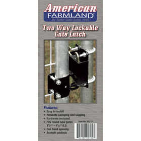 Tarter Farm and Ranch GL21P Latch Gate Lockable 2Way