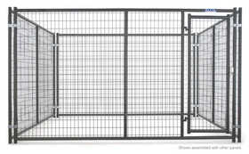 Tarter Farm and Ranch DKF2DHDG Dog Kennel Front Heavy Duty 2 Door 6x10
