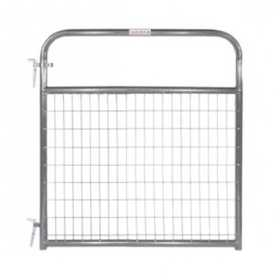 Tarter Farm and Ranch WFGGR4 4 ft Wire Filled Gate 2x4 Gray