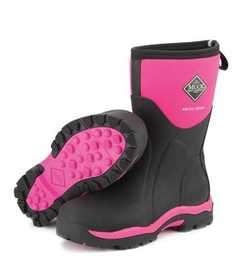 Muck Boot Company WAS-404 Womens Arctic Sport Mid Boot Hot Pink 11