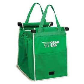 Telebrands 8991-6 Grab Bag Reusable Shopping Bag, 2 Pack