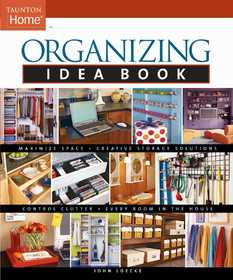 Taunton Trade 70835 Organizing Idea Book