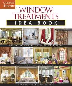 Taunton Trade 70869 Window Treatment Idea Book