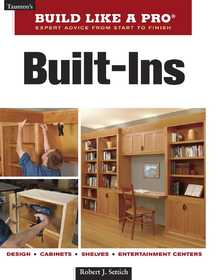 Taunton Trade 70916 Build Like A Pro: Built-Ins