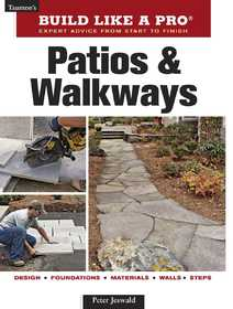 Taunton Trade 71237 Build Like a Pro: Patios and Walkways