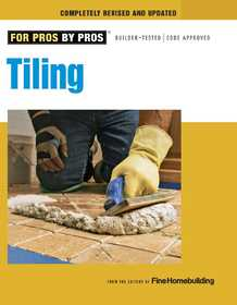 Taunton Trade 71326 For Pros By Pros: Tiling
