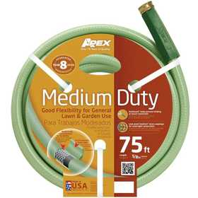 Teknor Apex Company 8336-75 Medium Duty Hose 5/8 in x75 ft