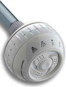 Water Pik SM-421 4-Mode Shower Massage Showerhead
