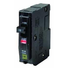 Square D QO120CP Qo Circuit Breaker Single Pole 20a Bulk