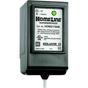 Square D HOM2175SB Homeline SurgeBreaker Secondary Surge Protective Device 2 Spaces