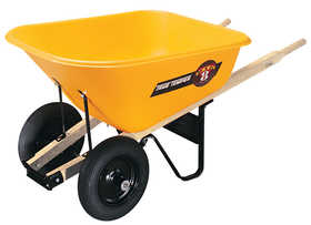 Ames BP8 Poly 2-Wheel Wheelbarrow 8 Cu Ft