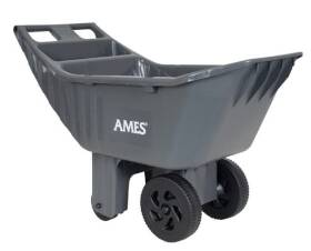 Ames 2463875 Cart 3Cu Ft Easy Roller Plus