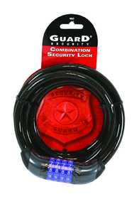 Howard Berger/Ultra Lock 682 Guard Security 682 Braided Cable Combination Lock, 6-Feet