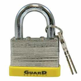 Howard Berger/Ultra Lock 750 Guard Security 750 Laminated Steel Padlock With 2-Inch Standard Shackle