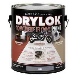 United Gilsonite Laboratories 21313 Drylok Concrete Floor Paint Latex Gull Gallon
