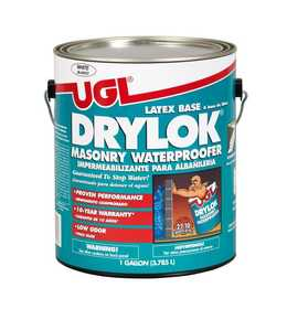 United Gilsonite Laboratories 27513 Masonry Waterproofer Latex White Gal