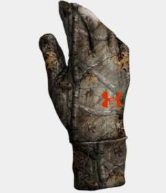 Under Armour 1203060-946-XLG Under Armour Camo ColdGear Liner Gloves (Realtree Ap Xtra)