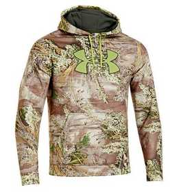 Under Armour 1249745-910 L Under Armour Camo Big Logo Pullover Hoodie - Men's Large