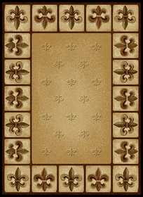 United Weavers 550 33697 Area Rug 5 ft 3x7 ft 2 Fleur Delys