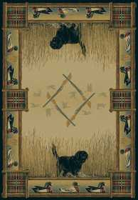 United Weavers 530 43417 Area Rug 1 ft 11x7 ft 4 Duck Hunt