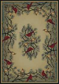 United Weavers 532 40217 Area Rug 1 ft 11x7 ft 4cardinal In Pine