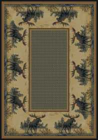 United Weavers 532 40417 Area Rug 7 Ft 10x10 Ft 6northwood Moose