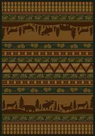 United Weavers 533 10643 Area Rug 3 ft 11x5 ft 3 Pine Valley