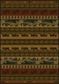 United Weavers 533 10843 Area Rug 3 ft 11x5 ft 3 Kodiak Island