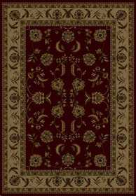United Weavers 160 12934 Area Rug 7 ft 10x10 ft 6 Annabel Burg
